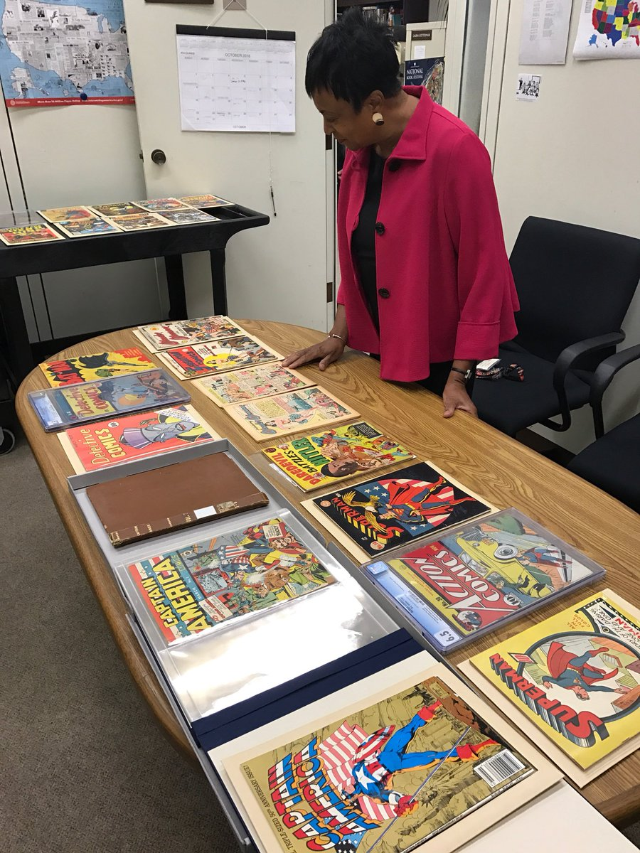 Happy #NationalComicBookDay! The @librarycongress has the largest comi...