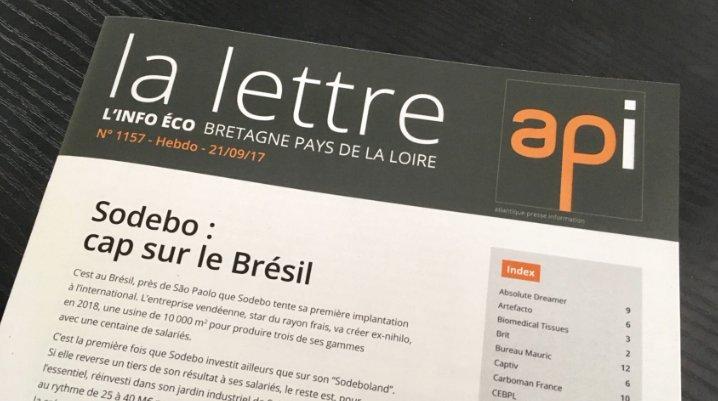 [#Edito] @sodebo : cap sur le #Brésil -  https://www. agence-api.fr/article/sodebo -cap-sur-le-bresil-1 &nbsp; …  #FilAPI #PDL #Croissance #Implantation par @EmmanuelGuimard<br>http://pic.twitter.com/IAIWDKFDdF