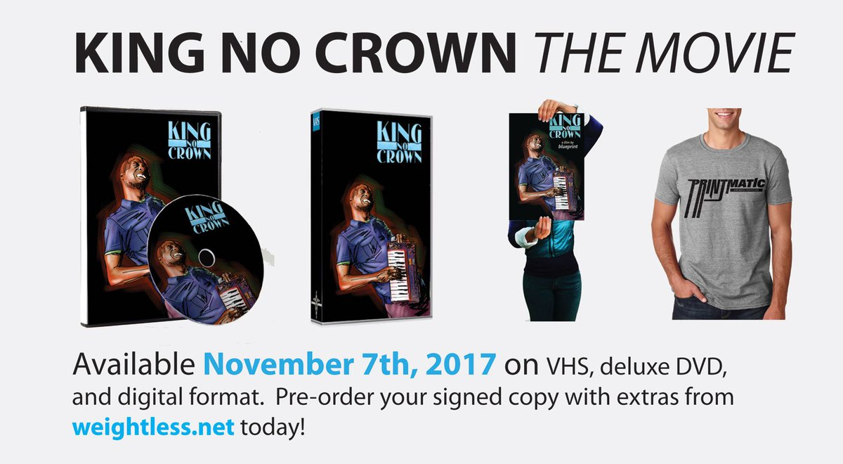 Blueprint on twitter weve got vhs dvd digital preorder blueprint on twitter weve got vhs dvd digital preorder packages for my upcoming king no crown film all ship w microwave popcorn malvernweather Images