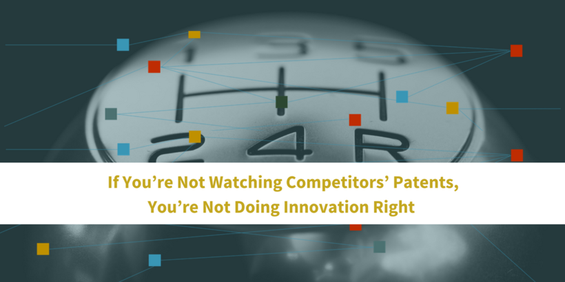 If You're Not Watching Competitors' #Patents, You're Not Doing #Innovation Right  http:// ow.ly/jlz130fm0hK  &nbsp;  <br>http://pic.twitter.com/xMiwyAGuk5
