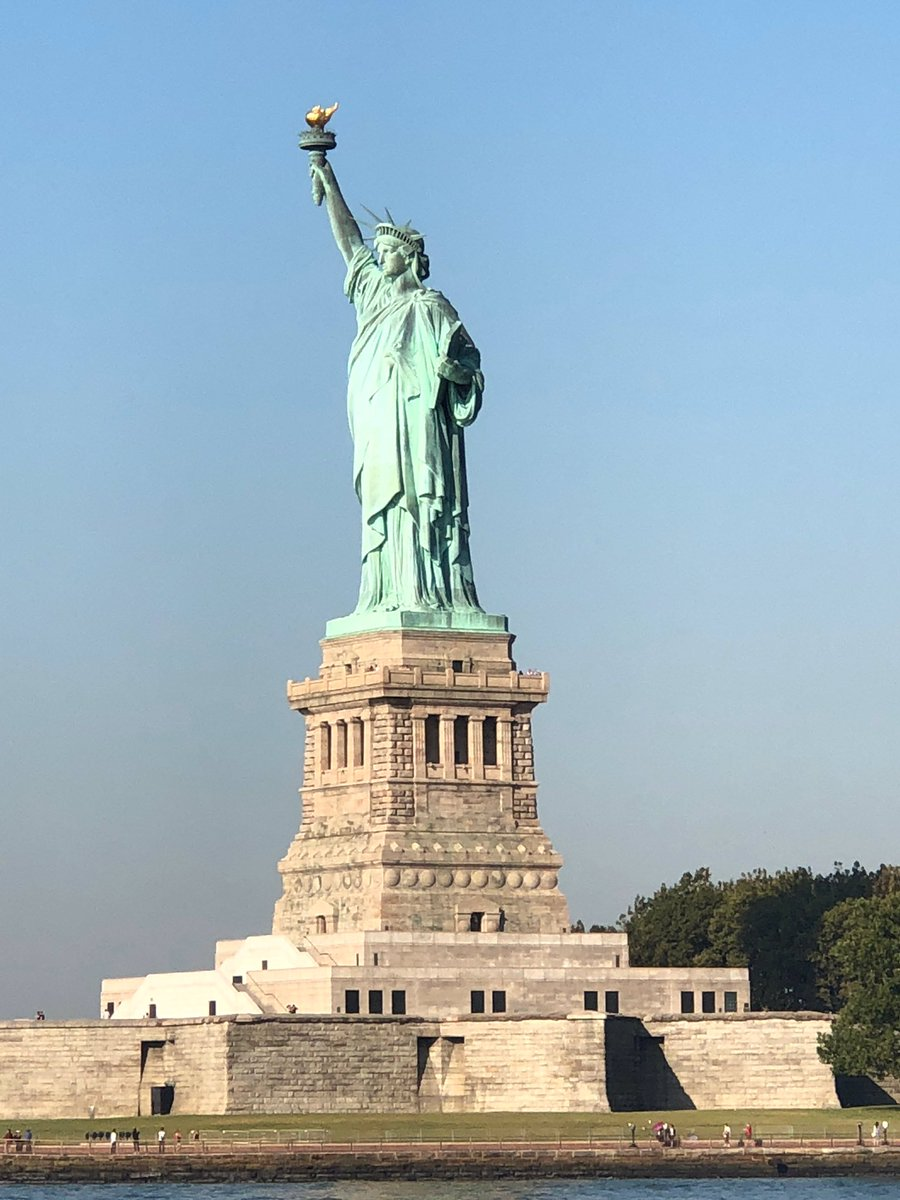Our view this morning on the ferry ride! Go Team USA!  @PresidentsCup