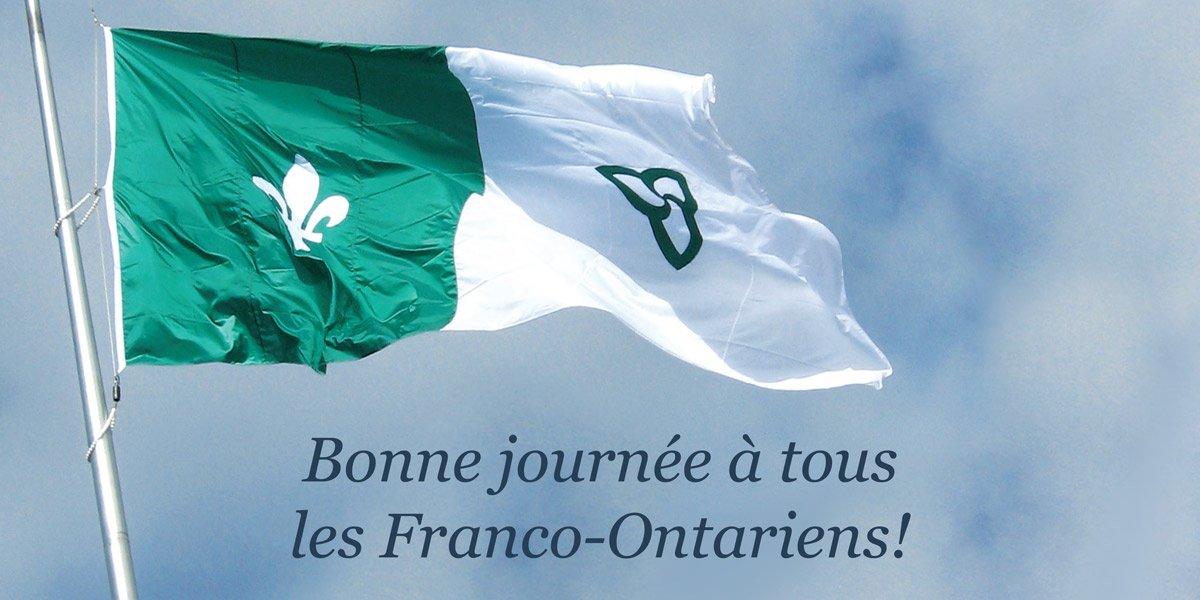 #Toronto en vert & blanc! Bonne journée des Franco-Ontariens à tou...