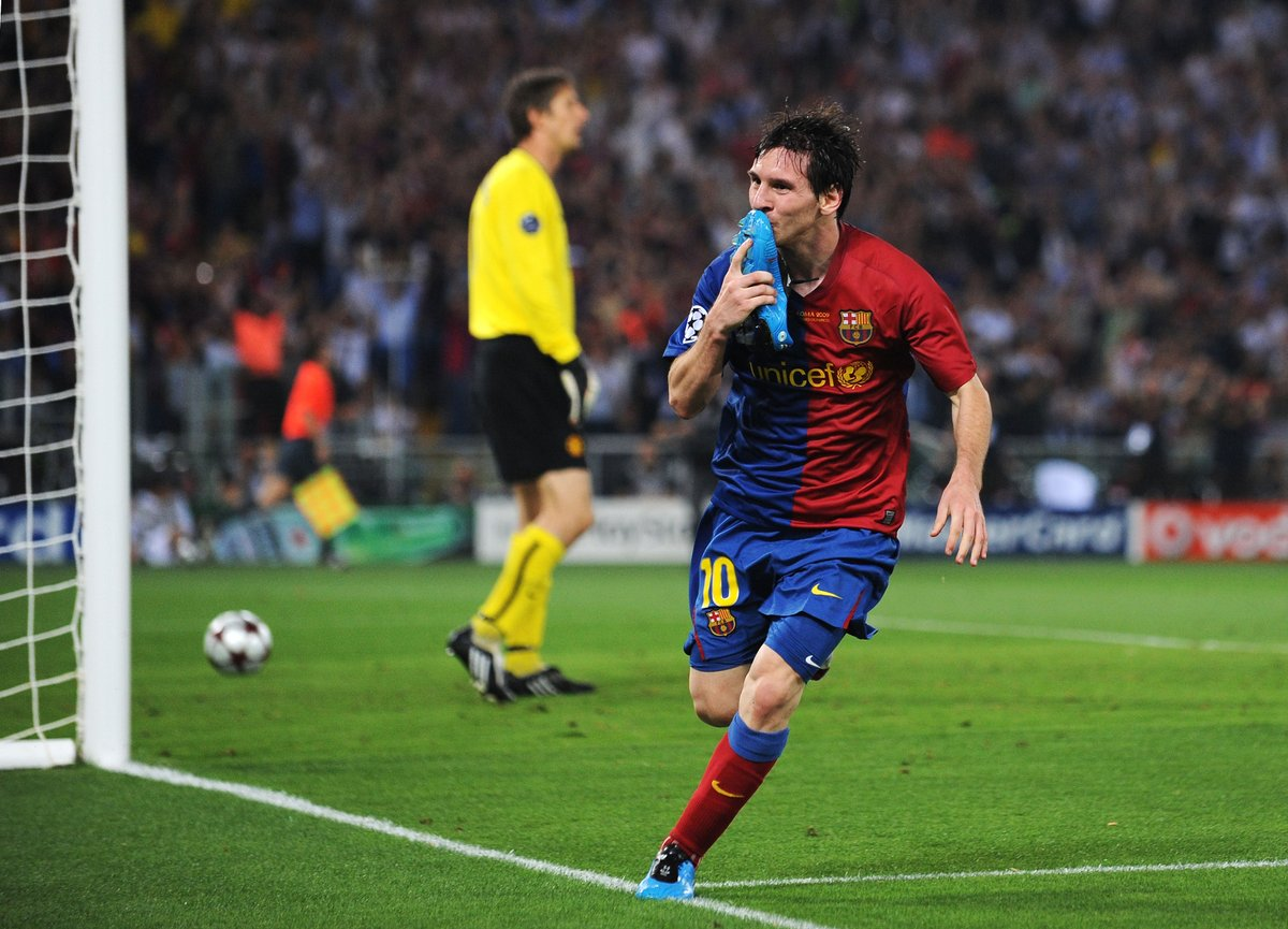 Leo Messi in UEFA club competition:  Games 120 Goals 99  Top scorer in the #UCL this season?  <br>http://pic.twitter.com/iHvlcXH3NH