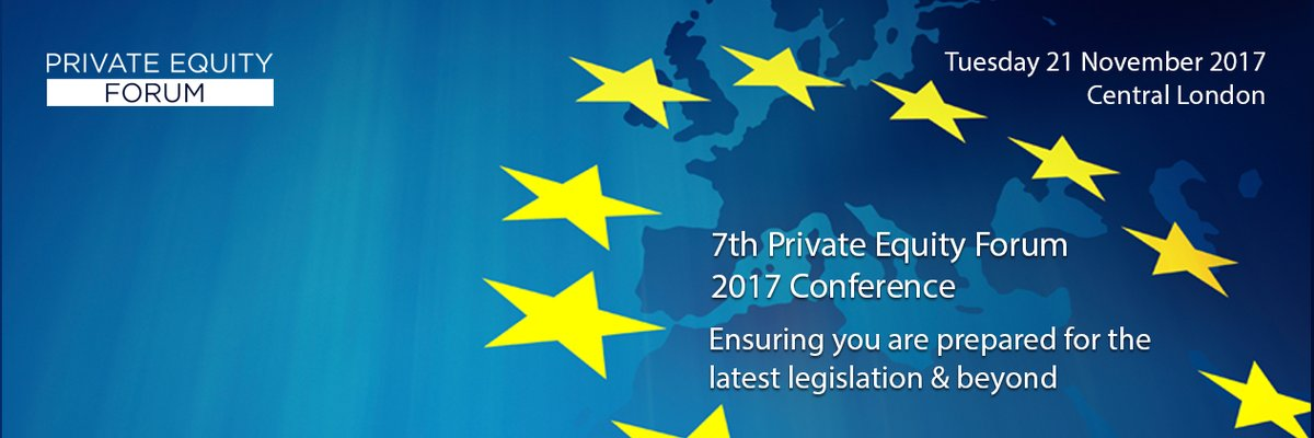 #Brexit: what will it mean for #PrivateEquity &amp; #VentureCapital? Attend @PEForumLtd with speaker @TamsinChislett &gt;  http:// ow.ly/8t2z30fp3ah  &nbsp;  <br>http://pic.twitter.com/2GCbxgQ20v