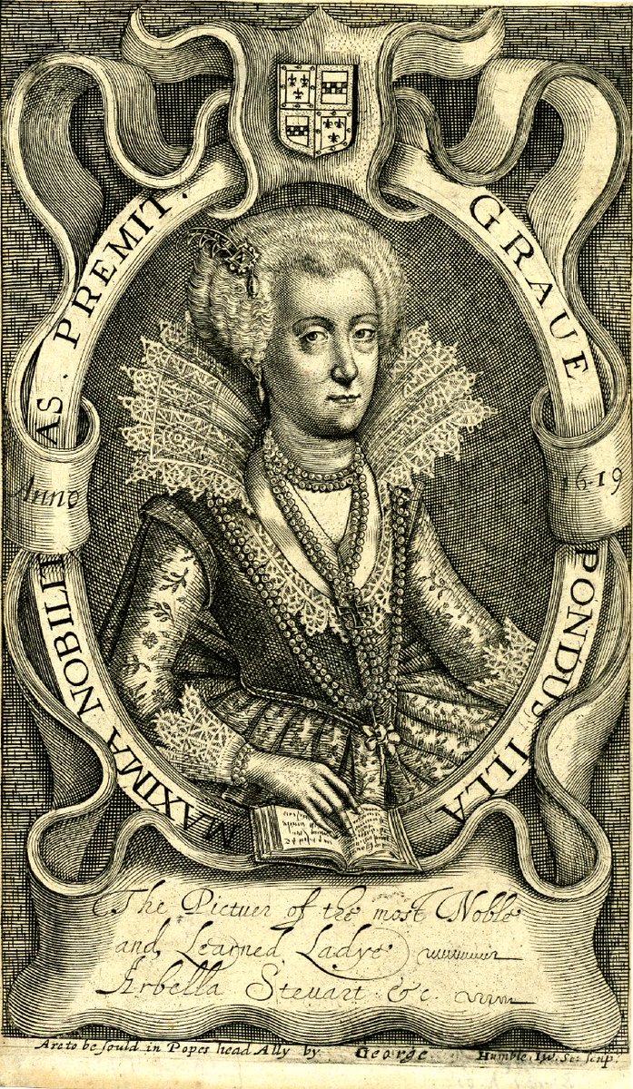 25 Sept 1615: Lady Arabella Stuart, erudite cousin of James VI &amp; I dies in Tower of #London #otd (BM) Married against king&#39;s wishes <br>http://pic.twitter.com/wnh0Ek87Mu