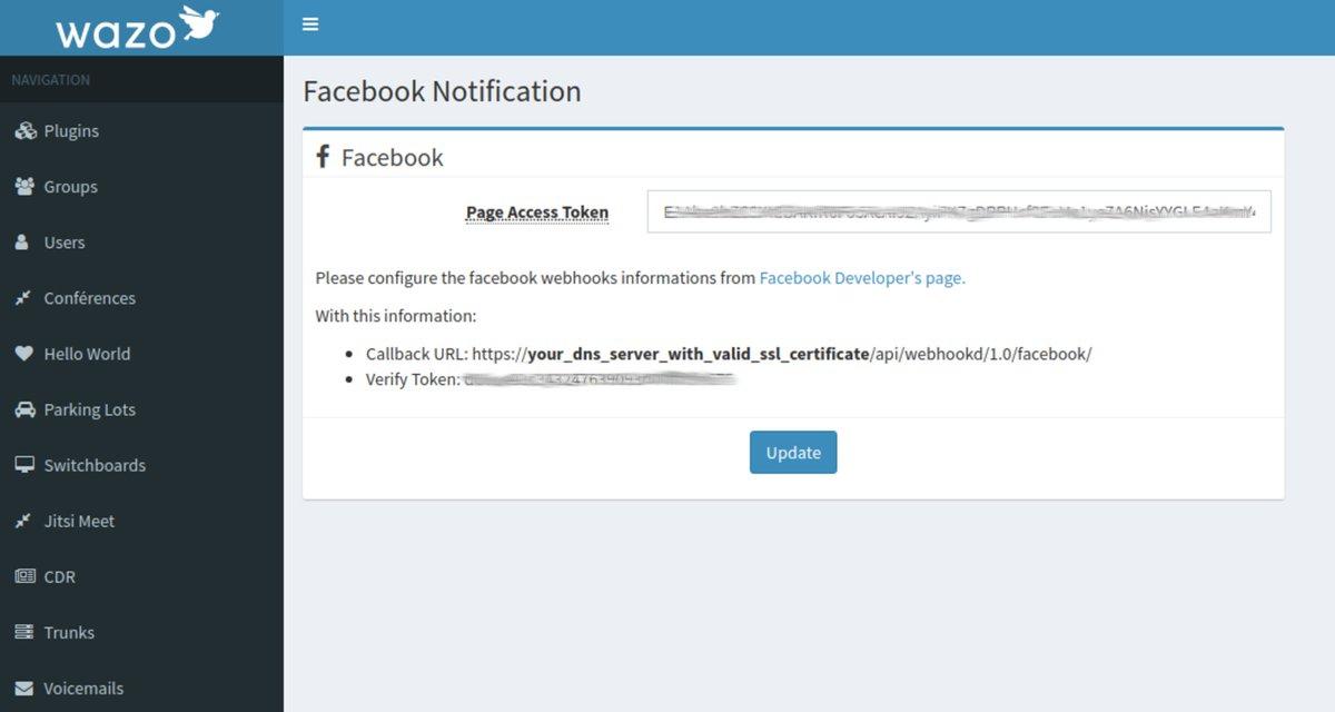 PIONEERS - Facebook Messenger Webhooks | PIAF - Your own
