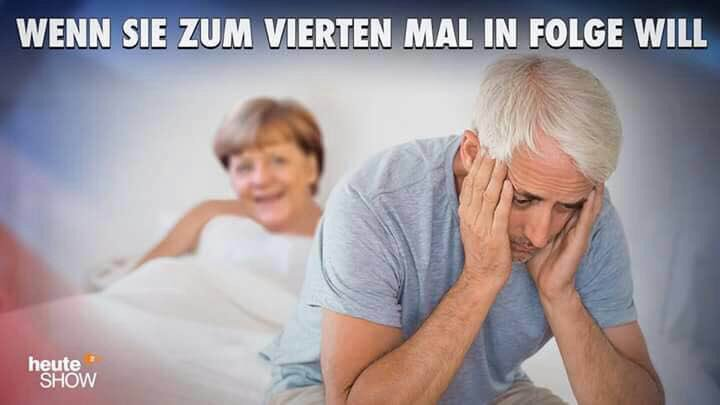 She wants IT for the 4th time in a row. Another partner will always be found. #Merkel #GermanElection #Germany #Europe #refugees #islamists<br>http://pic.twitter.com/TYPaJRel9V