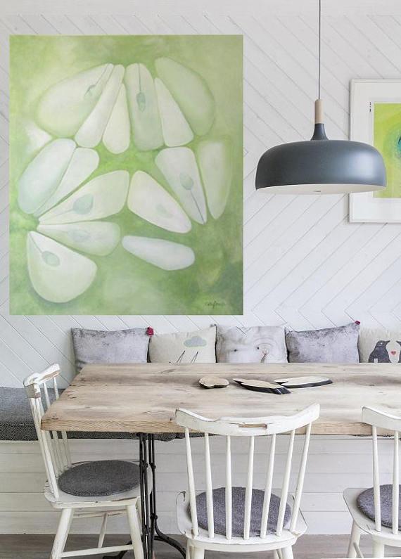 Large Abstract Painting  Green Abstract Wall Art Extra Large  http:// dld.bz/gf2cj  &nbsp;   #abstract #abstractart #fineart #wallart<br>http://pic.twitter.com/jbIQS85TXJ