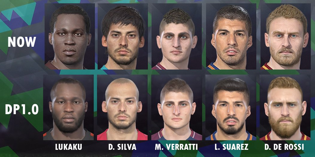 PES 2018 DATA PACK DLC 1.0