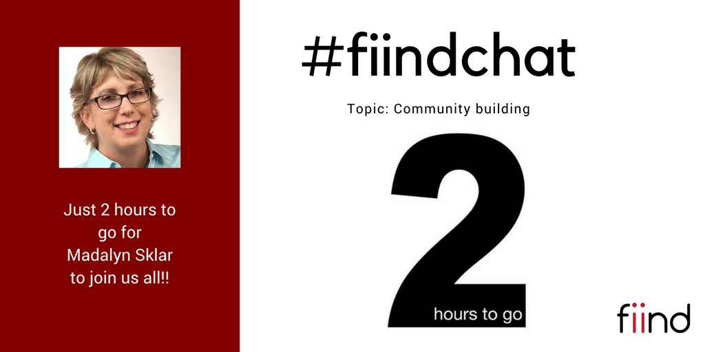 Keep calm and 2 hours to go!! #fiindchat   #CMO #community #communitydevelopment #MachineLearning #martech #CX<br>http://pic.twitter.com/fxD7EpzuaB