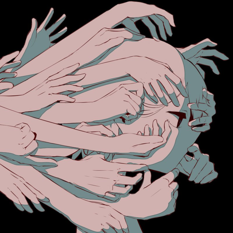 他人を前にすると顔を触る癖が酷く出てしまう。