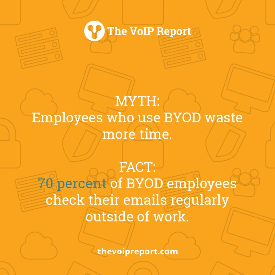 Many companies have cited that moving to #BYOD has made their employees more productive. #businesscommunications<br>http://pic.twitter.com/xiGEJPZx5v