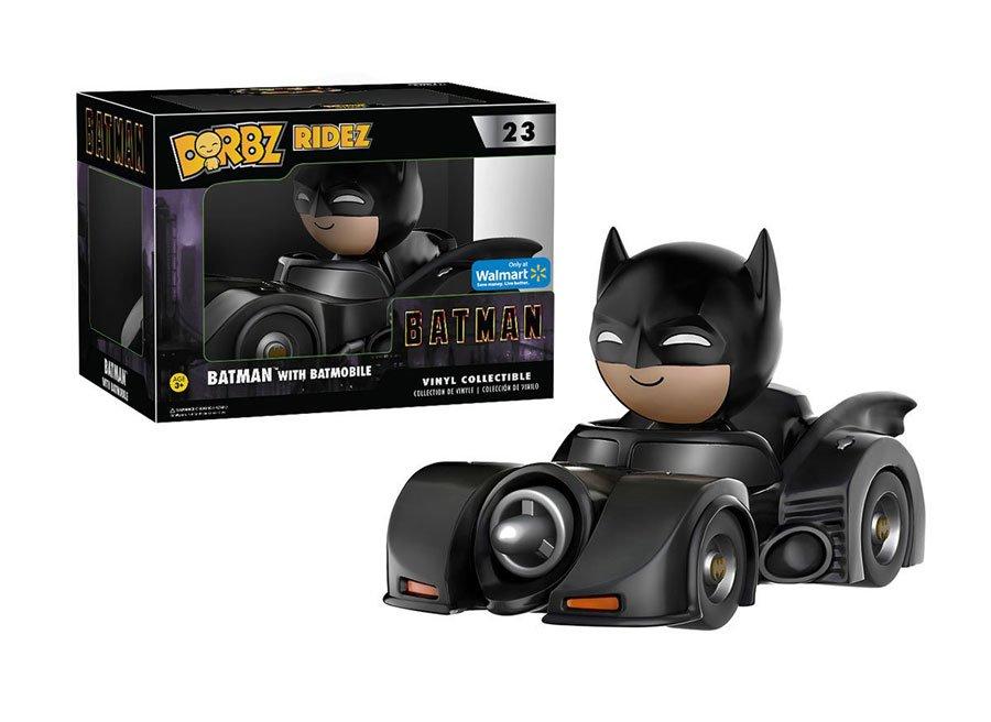 RT & follow @OriginalFunko for the chance to win a @Walmart Exclusive Burton Batmobile Dorbz Ridez!