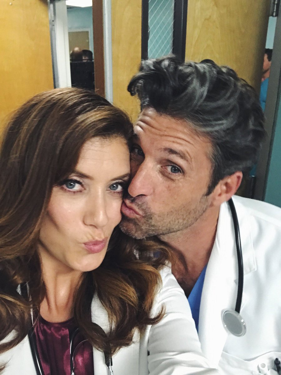 Oh look who's back… #tvdoctors #bts https://t.co/oWpv4m4pEk