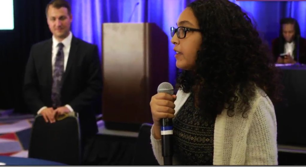 Brilliant, young, and vibrant #lupus patient. Eloquently sharing effects of her chemo treatment. Far too health wise for age. #LupusPFDD<br>http://pic.twitter.com/DkGxtZxRbt