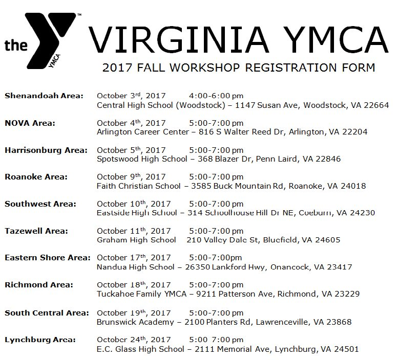 Virginia YMCA (@VirginiaYMCA) | Twitter