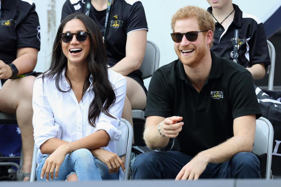 Prince Harry and Meghan Markle make first public appearance together h...