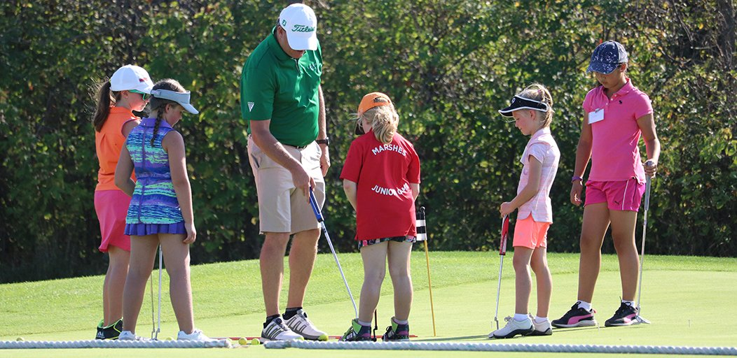 Yesterday's Future Champions clinic at the World Junior Girls was a bi...