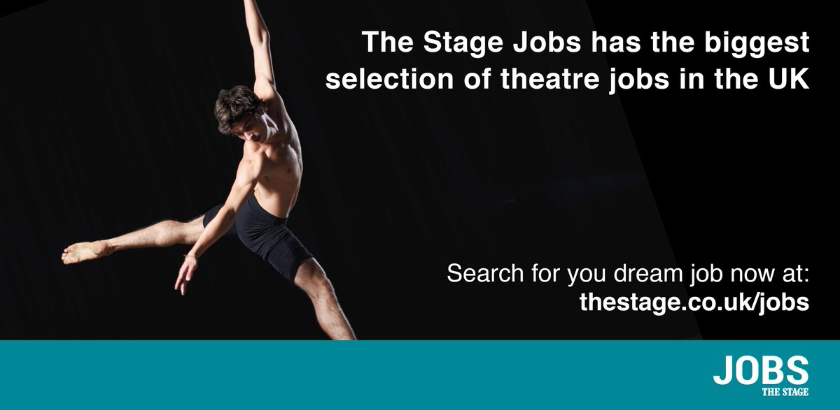 Search the largest selection of theatre jobs for free at: https://t.co...