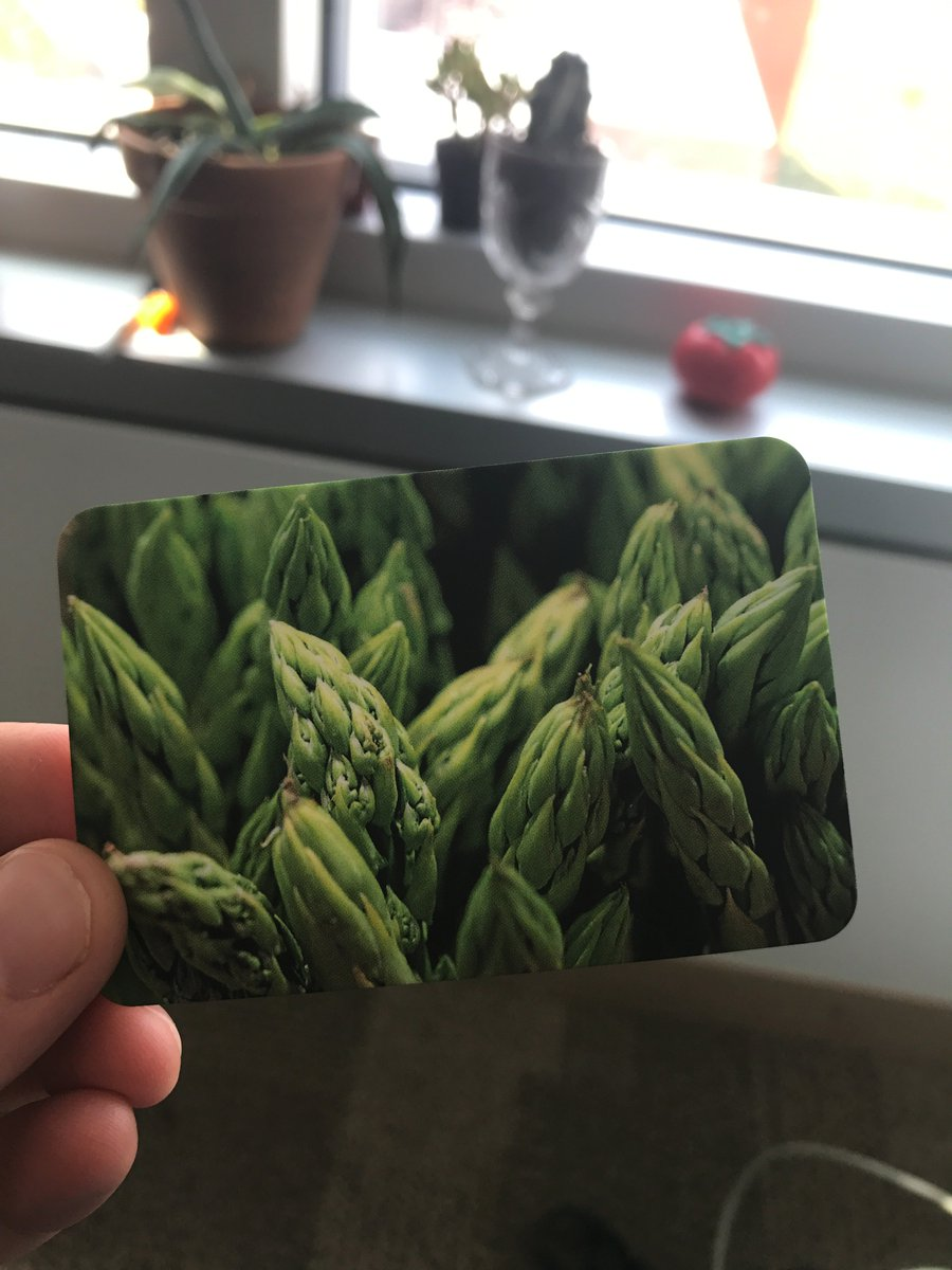 Honored to be the 1st recipient of Dr @aeharkess&#39; scratch and sniff business card. Only 200 - get &#39;em while they&#39;re hot  #He&#39;sOnTheMarket <br>http://pic.twitter.com/hUwNW2LEtf