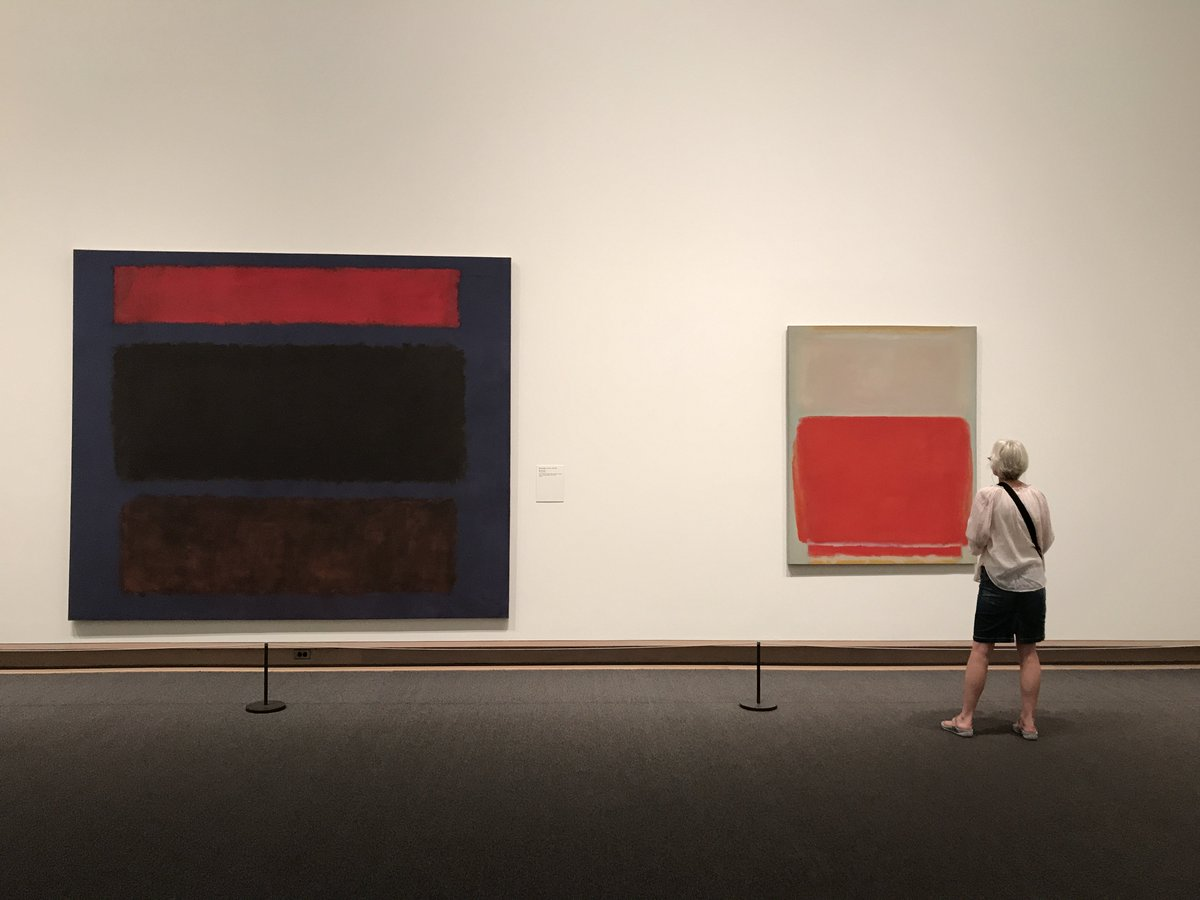 """My pictures are indeed facades."" Happy Birthday to Mark #Rothko, born..."