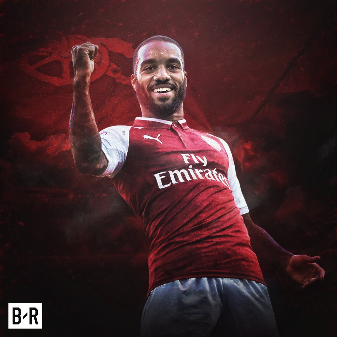 Alexandre Lacazette loves playing at the...