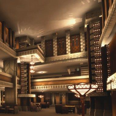 〈帝国ホテル旧本館「ライト館」〉VRを初公開! フランク・ロイド・ライト生誕150年記念祝典。 https://t.co/wQr89CcaK...