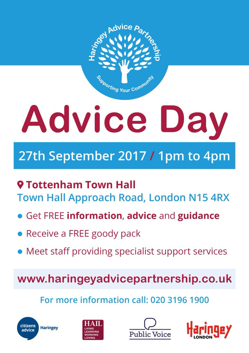 Get #Information &amp; #Guidance on health &amp; care services from us:  Wed 27th Sept, 1pm-4pm  https:// tinyurl.com/y7oo8kl7  &nbsp;    @HaringeyAp @BridgeRenewal<br>http://pic.twitter.com/aWwnEpvhd1