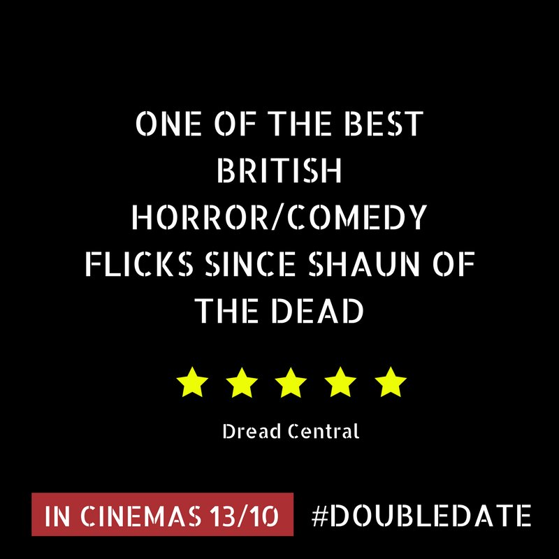 5 Star Review from Dread Central!    @DreadCentral In cinemas from Friday 13th #Doubledate #Movie #Horror #Comedy<br>http://pic.twitter.com/gJvaIwPB1z