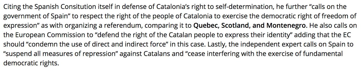 #UN expert #DeZayas calls on #Junker to mediate between #Catalonia and #Spain  http://www. catalannews.com/politics/item/ un-independent-expert-on-the-promotion-of-democracy-urges-juncker-to-mediate-for-catalonia &nbsp; …  #ScotsForCatalonia #ScotRef<br>http://pic.twitter.com/zBVyIP9iOb