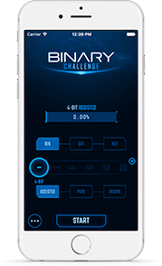 Master binary numbers &amp; Train your mental math with this amazing game  http:// bit.ly/2hmuHyj  &nbsp;   #indiegame #geek #nerd <br>http://pic.twitter.com/6PNjjoHW79
