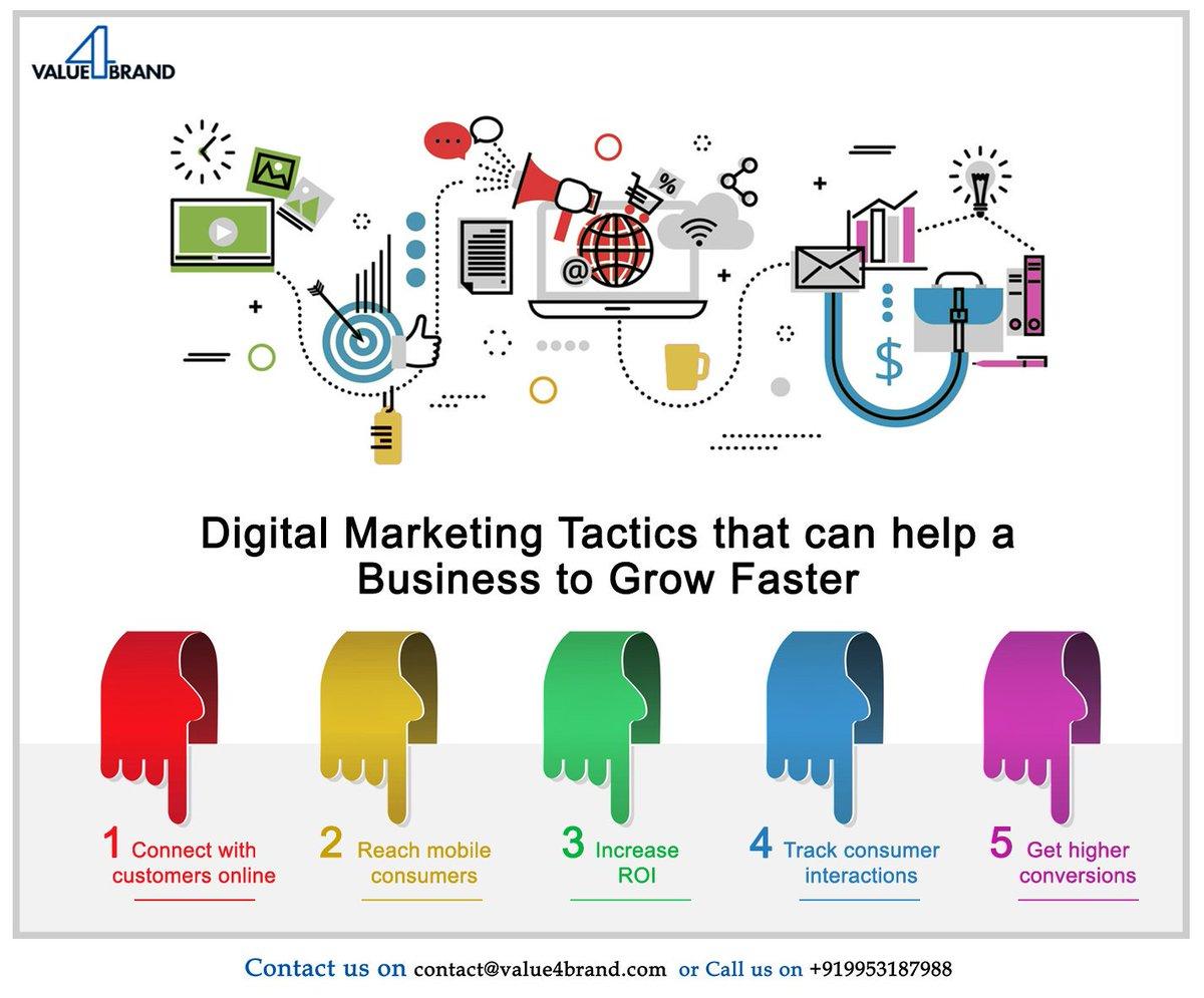 #DigitalMarketing tactics. #SocialMedia #SEO #Mpgvip #defstar5 #startups #marketing #tech #value4brand #GrowthHacking #BigData @Value4Brand<br>http://pic.twitter.com/9oCeavfoyH