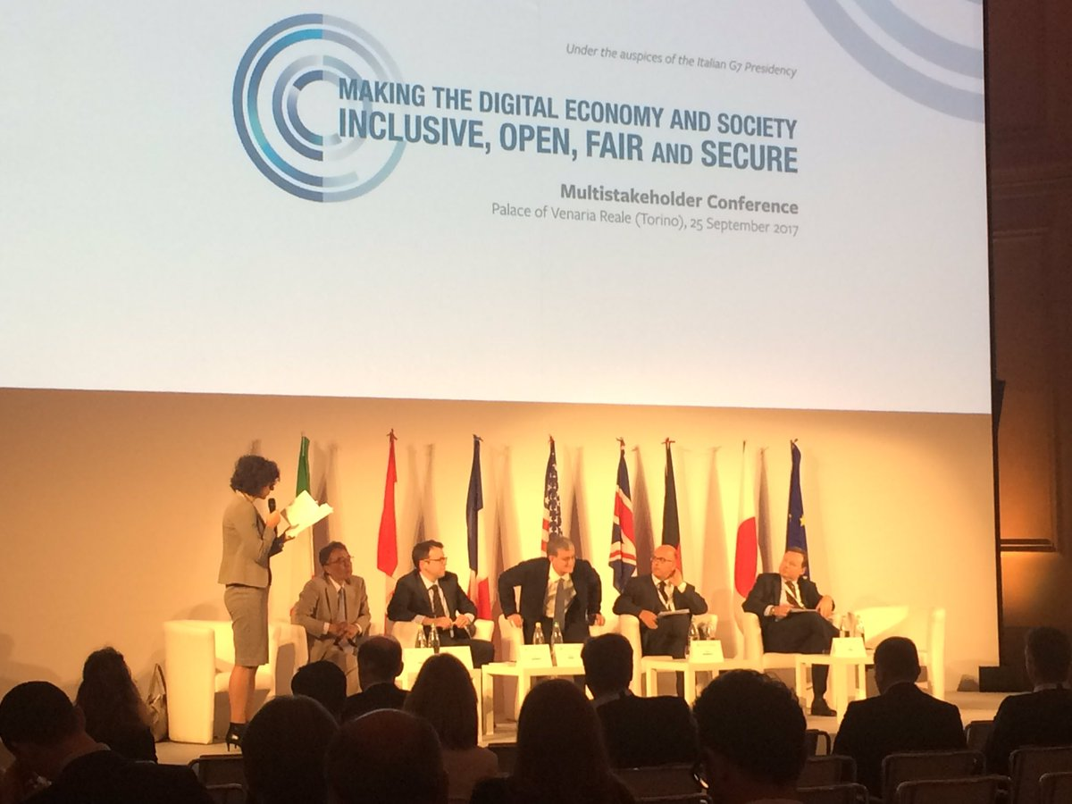 Learning more about #enisa from @ViolaRoberto at G72017Italia in #Turin #cybersecurity #innovation #Sustainability <br>http://pic.twitter.com/xtk4RPFcop