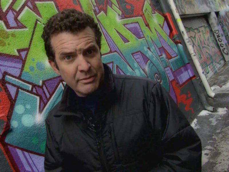 Inspiring! Rick Mercer finally moves out of that alley https://t.co/H0...