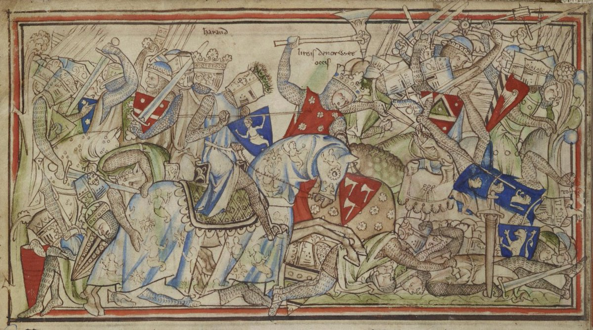 #OTD in 1066, Anglo-Saxon forces defeated the Norwegian invader  Harald Hardrada at the Battle of Stamford Bridge.    http:// archaeology.org/issues/89-1305 /features/735-anglo-saxon-pagan-kings-lyminge-kent &nbsp; … <br>http://pic.twitter.com/GL7RiP4svz