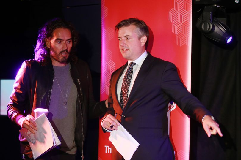 Top Labour MP tells Russell Brand the moving story of his alcoholic da...