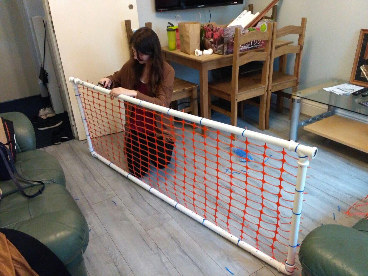 Check out Sheffield&#39;s brand new (&amp; first ever) obs gate made for tonight&#39;s Give it a Go ... #homemade #newkit<br>http://pic.twitter.com/l5hiZaMsxd