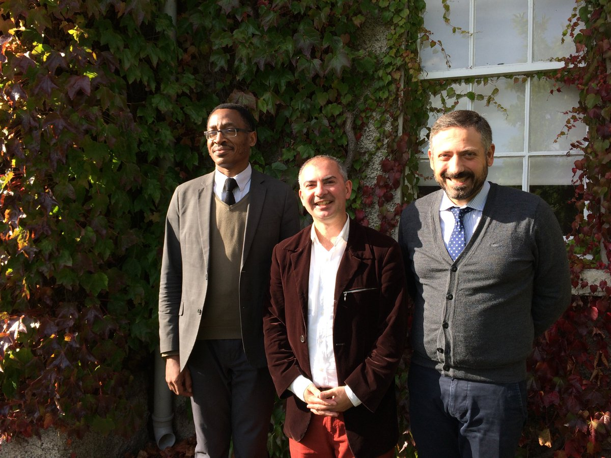 Prof. Doherty welcoming our visitors Dr.Michel Cannarsa and Dr.Louis-Daniel Muka Tshibende from @UCLYDROIT today #UCLY #Lyon #Droit #Law<br>http://pic.twitter.com/7nAhnixSJY