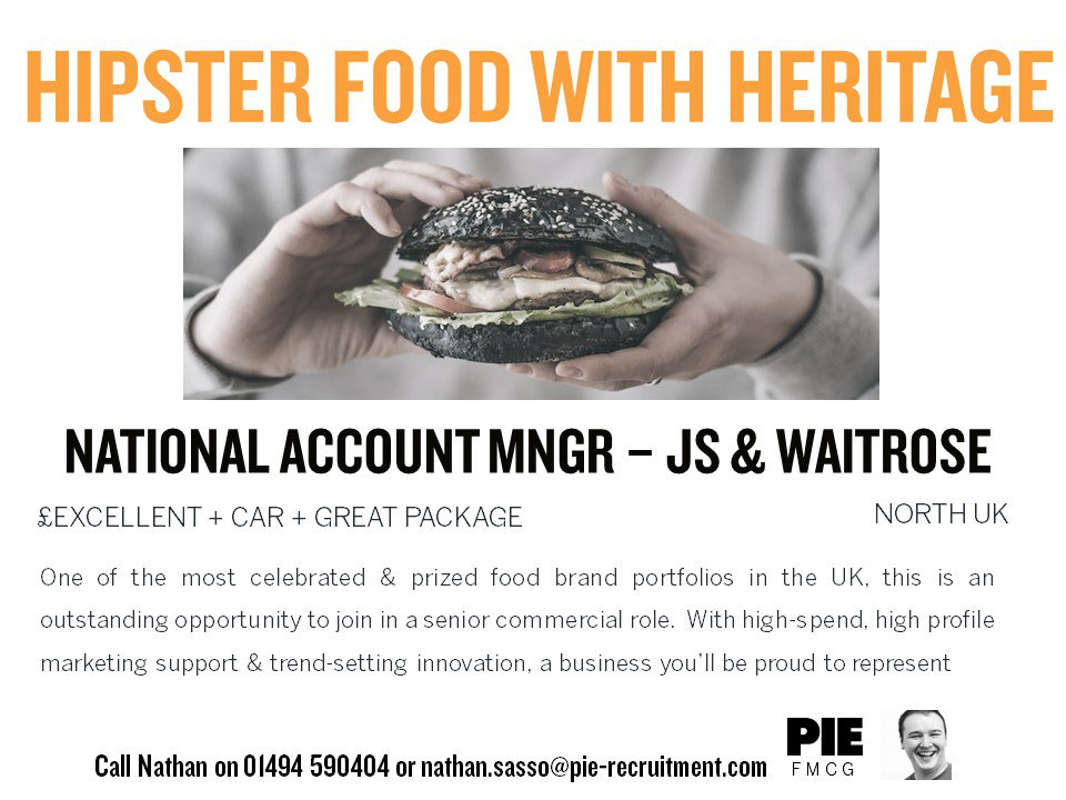 This #Food Brand will make you hungry for more  Contact the #FMCG Team &amp; sink your teeth into this role #NomNom &gt;&gt;  http:// bit.ly/2wIX92Q  &nbsp;  <br>http://pic.twitter.com/YlvM91ZfDB