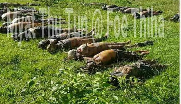 Some of #Missing Hindus are found out as dead bodies in Rakhine of Myanmar. # Bengali terrorists(so-called Rohingyas) #UN  #See the world!<br>http://pic.twitter.com/1ViADimXH6