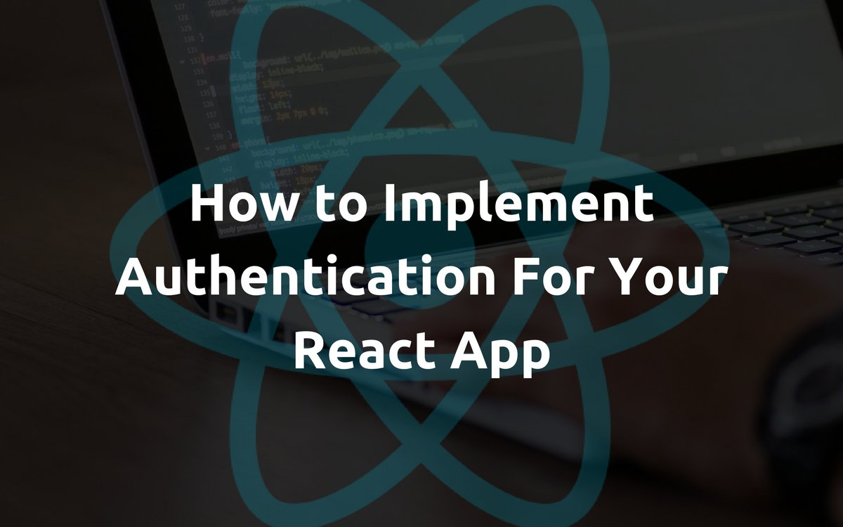 How to Implement Authentication For Your #ReactApp  https:// medium.appbase.io/how-to-impleme nt-authentication-for-your-react-app-cf09eef3bb0b &nbsp; …  #React #reactjs #javascript #Nodejs #JS #webdevelopment #frontend<br>http://pic.twitter.com/Fy4s0LKtqo