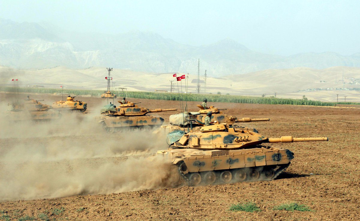 Photos from the continued Turkish Army drill on the border with Iraqi Kurdish Region today.