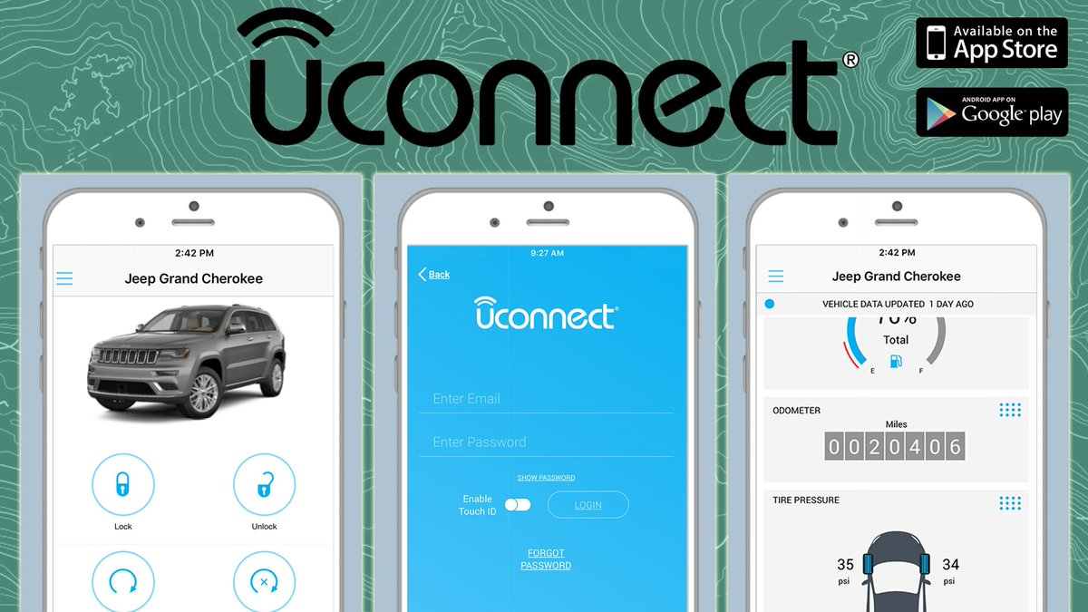 Uconnect Access App >> Uconnect On Twitter Remote Lock And Unlock Access Vehicle