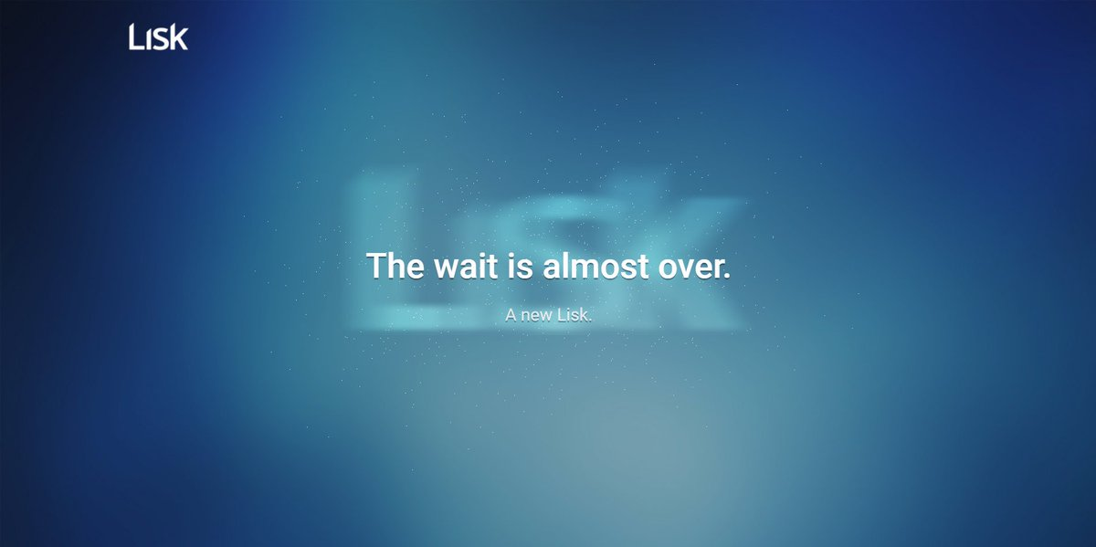 News   The wait is almost over. A new lisk. $lisk $lsk $neo #rebrand #cryptocurrency #blockchain #btc $omg #Europe #Germany<br>http://pic.twitter.com/WmYobcsr11