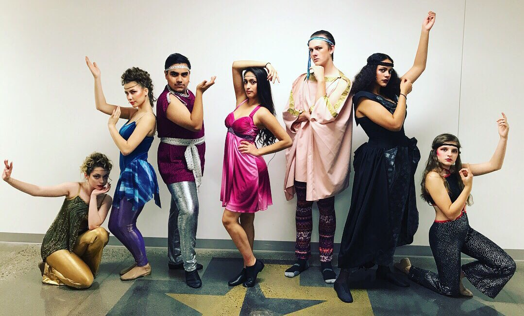 The 80&#39;s are back! Xanadu opens Friday at 7:30pm on the island. #DelasalleTheatre #newseason #IslanderPride #rollerskates #mpls <br>http://pic.twitter.com/VsnSJ7y5hD