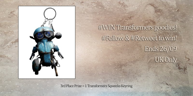 You could be heading home with our 3rd place prize, a cool little #Transformers #Sqweeks keyring!  #Follow &amp; #Retweet for the chance to #win<br>http://pic.twitter.com/bwOJO3cv4V