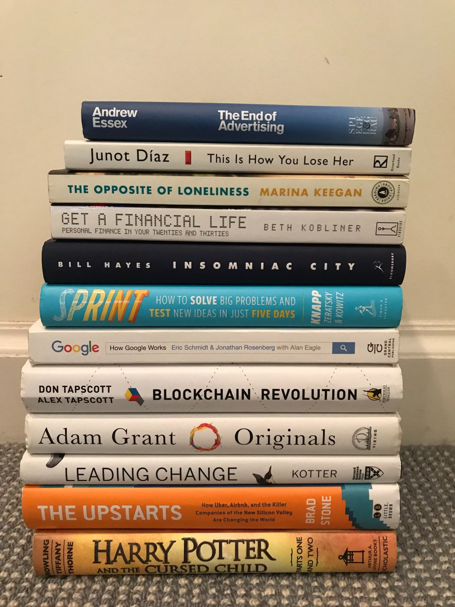 This summer was packed with incredible reads ... any recommendations for the Fall? #onebookaweek #nerd <br>http://pic.twitter.com/9JgiPaEC0B