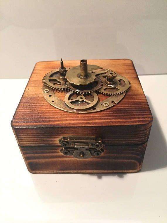 Small Hinged Scorched Wooden Steampunk Jewellery Box    https:// buff.ly/2fJtAbB  &nbsp;    #flockbn #atsocialmedia #eshopsuk<br>http://pic.twitter.com/K2PAmWsYBJ