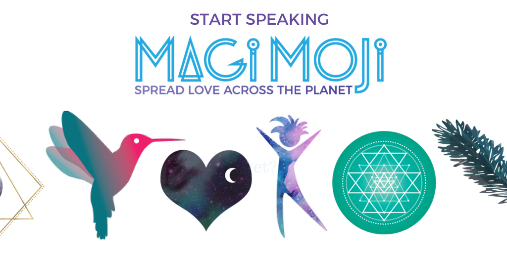 #MagiMoji is new #emoji #language of #love &amp; #consciousness. Send an image of #frequency. Join us &amp; spread MagiMoji love across the planet! <br>http://pic.twitter.com/I5qxksDFQS
