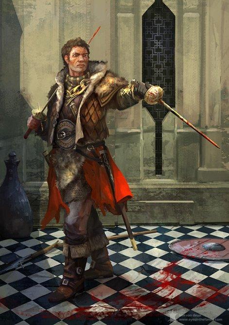 Meet the master sword-fighter swashbuckler. Took me ages to finish. Hope you like it! #digitalart #illustration<br>http://pic.twitter.com/KtbSBeIjpM